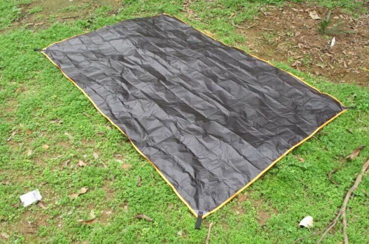 Double Sided Siliconized Waterproof Tent Groundsheet Tarp