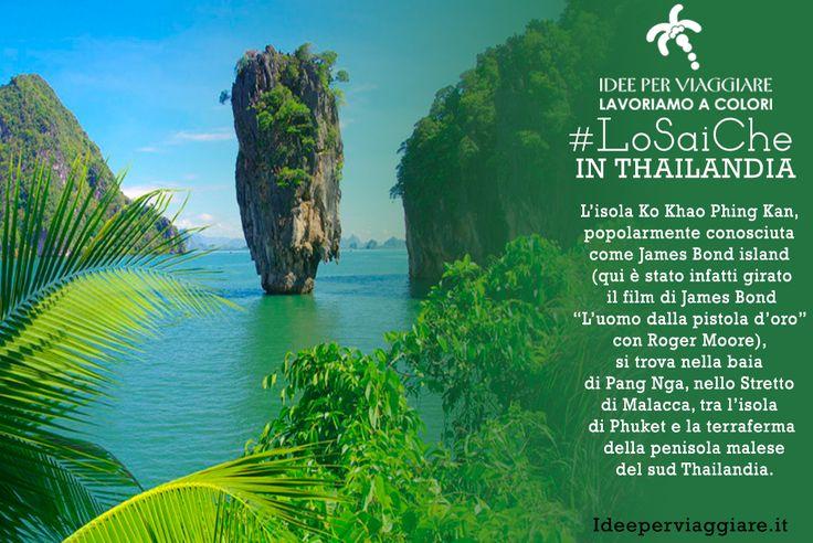 I #LoSaiChe di #IdeeperViaggiare continuano.......http://www.ideeperviaggiare.it #Thailandia