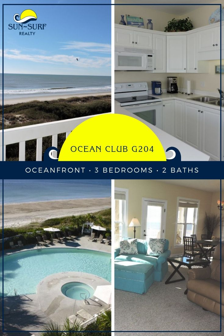 Fall in love with this beautiful oceanfront Emerald Isle