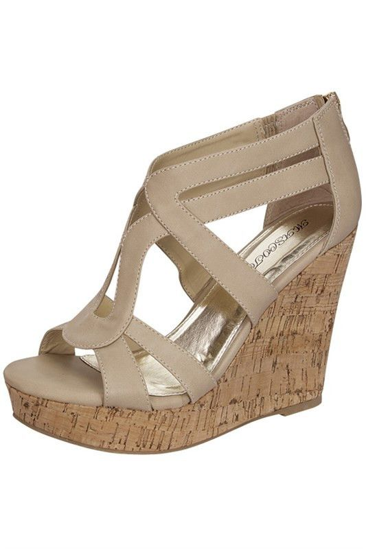 WALKING ON SUNSHINE Beige Tan Wedge Sandals SHOPSIMPLYME.com – Shop Simply Me – Naples, FL - #shopsimply