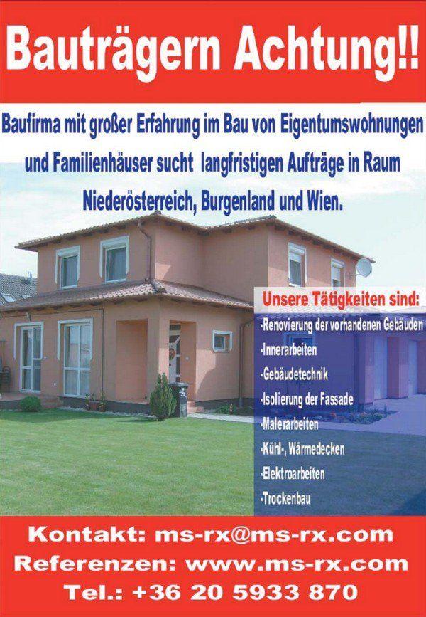 Ms Rx Baufirma Ungarischedienstleistungen Malerarbeiten Gebaudetechnik Eigentumswohnung