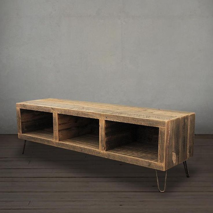 Reclaimed Wood Media Console - Free Shipping - JW Atlas Wood Co.