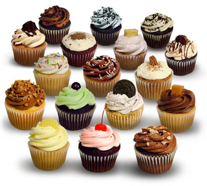These are my favorite cupcakes in the world... they are from FROSTED CUPCAKES