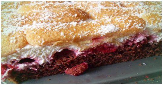 Schoko Himbeer Schnitten Kuchen Und Torten Rezepte Kuchen Und Torten Kaffee Und Kuchen