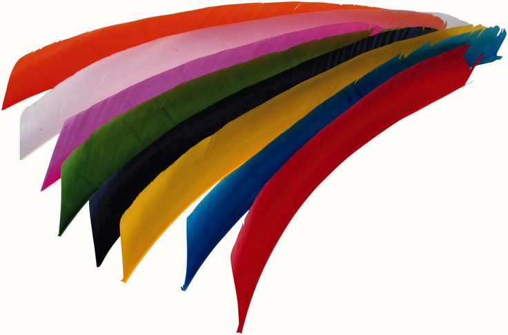 long archery turkey feathers can be cut into different sizes you want. ruby@oulay.com http://oulay.en.alibaba.com/