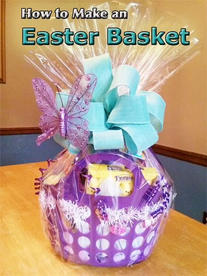 126 best giftbasketappeal videos images on pinterest christmas are you tired of making the same old easter basket every year its time to negle Images