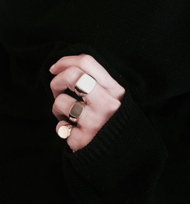 Signet Rings | @styleminimalism