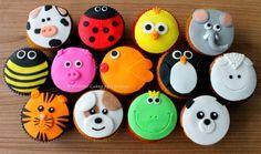 Dieren Cupcakes (Pagina 1) - Klein & fijn: Cupcakes, koekjes & los suikerwerk - DeLeuksteTaarten.nl Forum