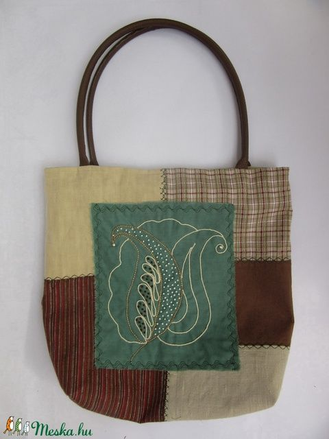 Natúra táska (silvanafoltvarras) - Meska.hu