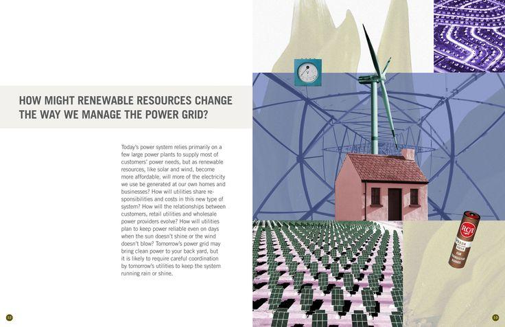 FMPA 2013 Annual: Collage illustration
