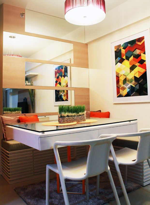 First condo unit project dining area what else michelle for Interior designs for condo units