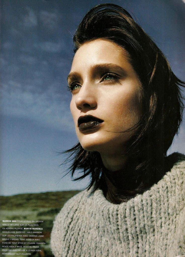 """Vogue Paris August 1996 """"Foncez Sur Le Marron"""" Model: Manon von Gerkan Photographer: Raymond Meier"""