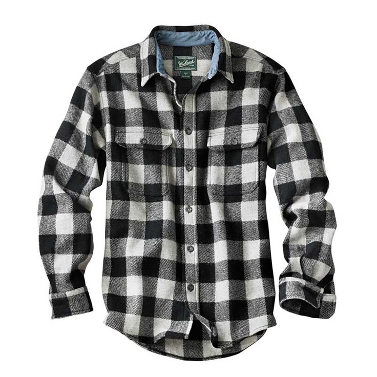 Black And White Plaid Flannel Shirt Pictures to Pin on Pinterest ...