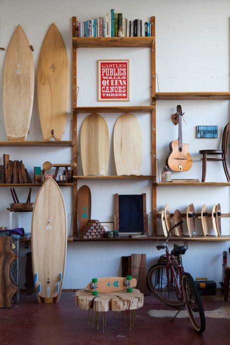Freunde von Freunden — Danny Hess — Surfboard Designer, Workplace Home, Outer Sunset, San Francisco — http://www.freundevonfreunden.com/interviews/danny-hess/