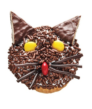 Fraidycat Cupcake - featured on Food2Fork.   #food2fork #yummy #cake #recipe #
