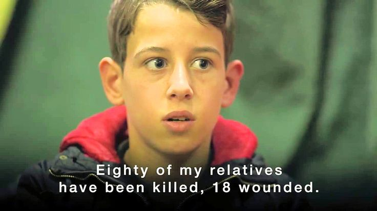 Syrian kid explains the war