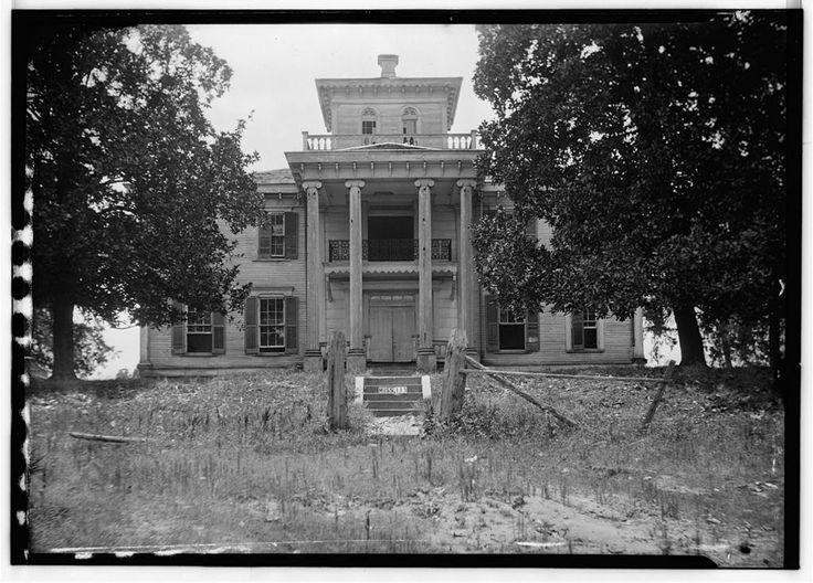 Prairie Mont Plantation Home Was Near Vaiden MS In Carroll County Built By Dr