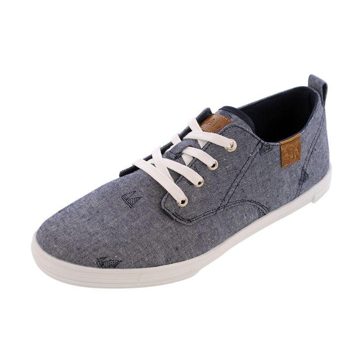 Vlado - Men's Leon Lo Canvas Sneakers - Blue