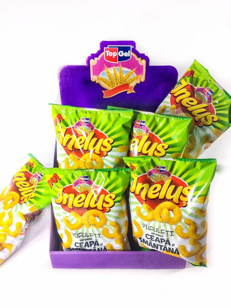 TopGel snacks - pufuleți