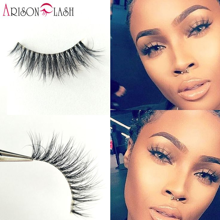 NEW Arison Cathy4 3D Mink Eyelashes Transparent Plastic Luxurious Thick fake eyelashes & permanent False Full Strip Eyelashes