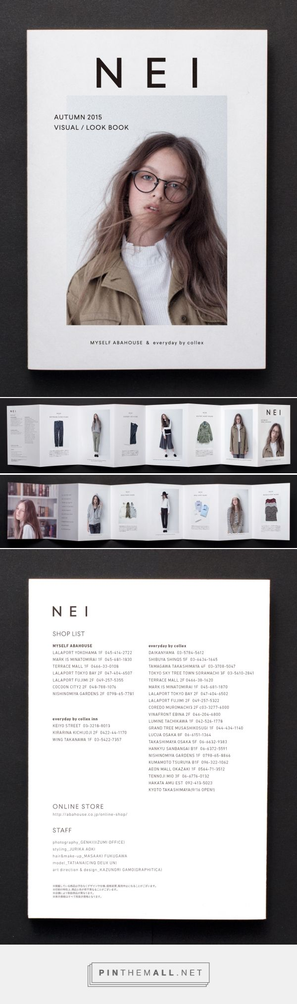 NEI ABAHOUSE : Autumn Catalogue 2015 | GRAPHITICA Inc. - created via https://pinthemall.net