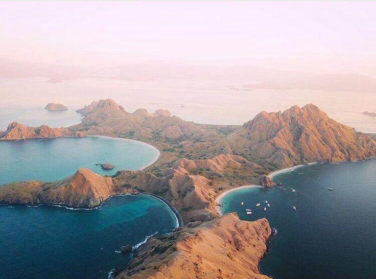 The land before time || Exploring the Komodo Islands  @captain_potter  #komodo #indonesia #beachgoldinspo
