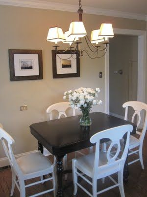 92 best Kitchen table redo images on Pinterest | Table and chairs ...