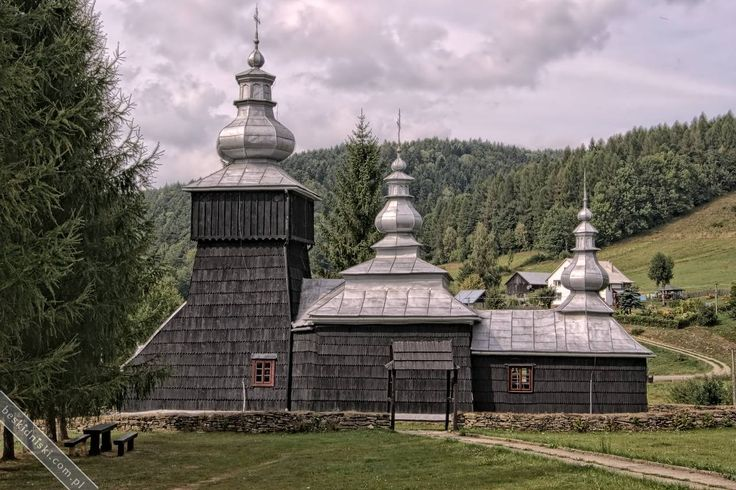 Cerkiew w Czarnej   Beskid Niski
