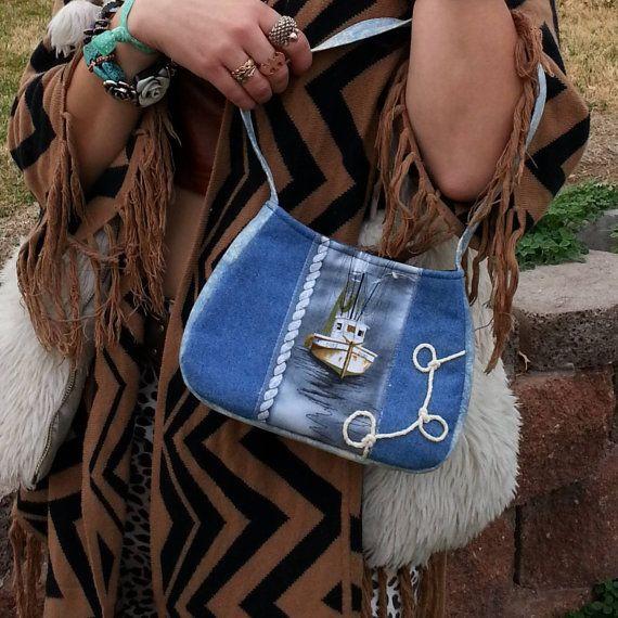 Summer purse /nautical purse /unique purses / by CarolJoyFashions