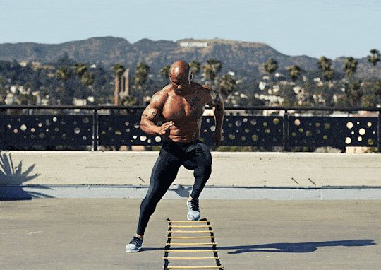 Workout The Agility Ladder Advantage Work Out Plans