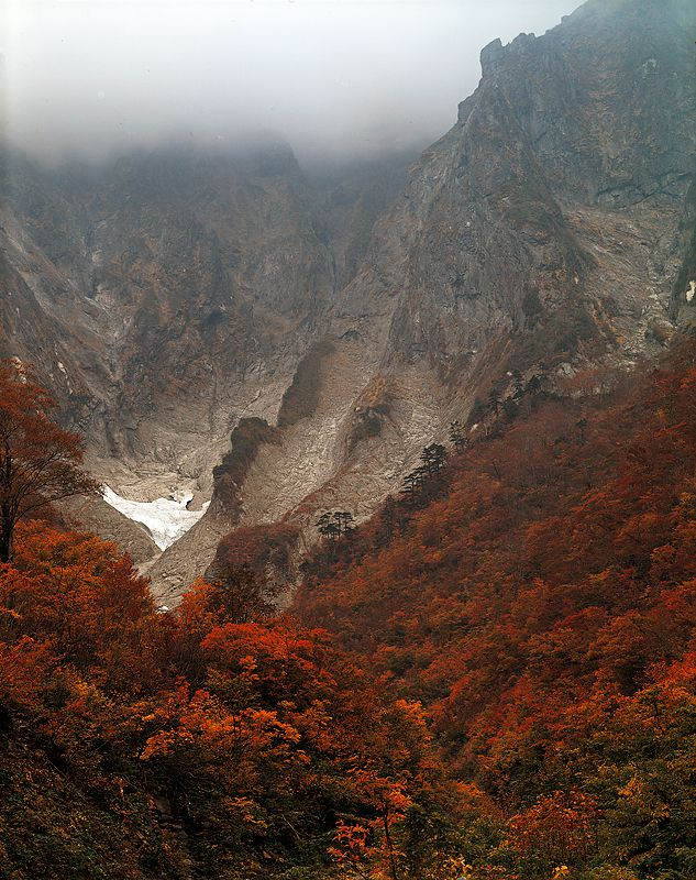 Mt.Tanigawa in Autumn, Gunma, Japan