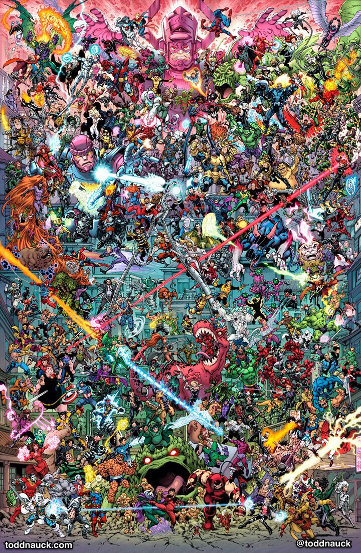 Todd Nauck....Marvel
