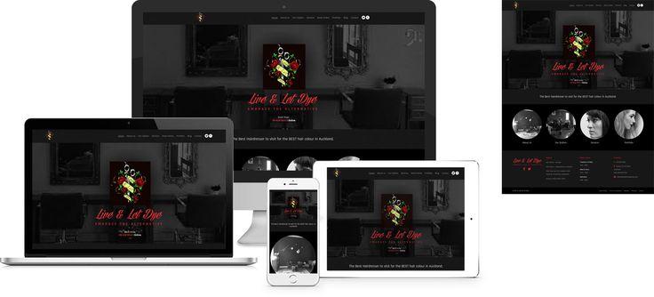 Website design by Forge Online using WordPress. http://www.forgeonline.co.nz/website-design/live-let-dye/