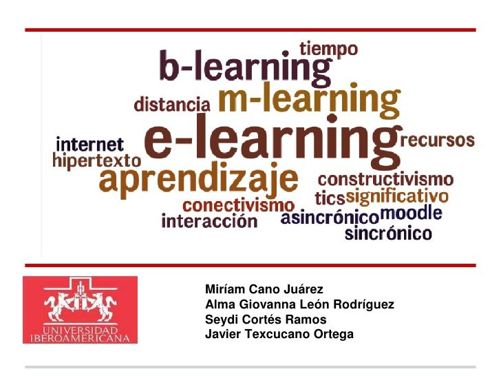 e-Learning b-Learning m-learning