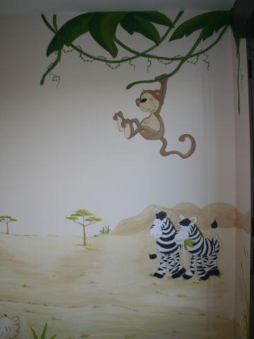 Mural Infantil personalizado - Murales Infantiles Marie France