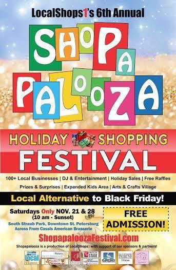 #Shopapalooza2015 poster design by @Kromalife !