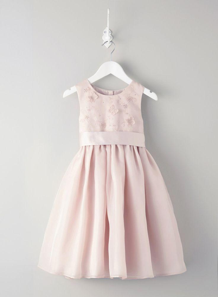 Isabelle Blush Flower Girl Dress - flower girl - Wedding - BHS