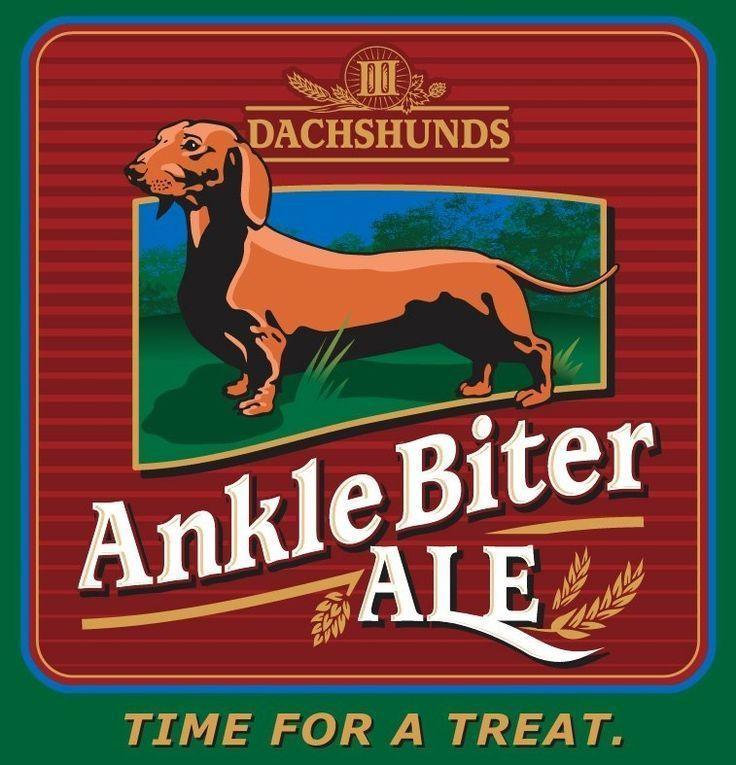 Anklebiter Ale By Iii Dachshunds Beer Co Dachshund Dachshund