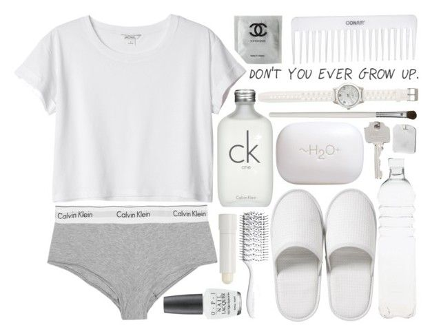 """""""I don't care, I'm not scared of love"""" by whatisl0ve ❤ liked on Polyvore featuring Cath Kidston, H2O+, Bedeck, Monki, Calvin Klein Underwear, Calvin Klein, Seletti, Hershesons, Conair and LOFT"""