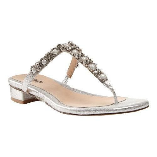Women's Pink Paradox London Peyton T Strap Sandal Synthetic
