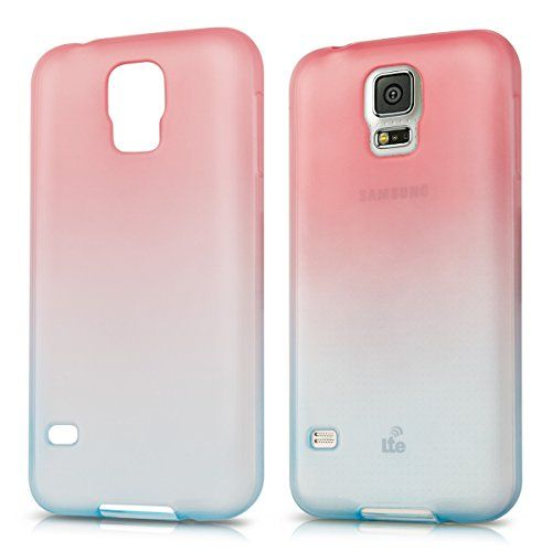 kwmobile Crystal TPU Silicone Case for Samsung Galaxy S5 / S5 Neo in Blue Hot Pink two colors kwmobile http://www.amazon.ca/dp/B014W5SPB4/ref=cm_sw_r_pi_dp_pVeEwb1NW3ZT3