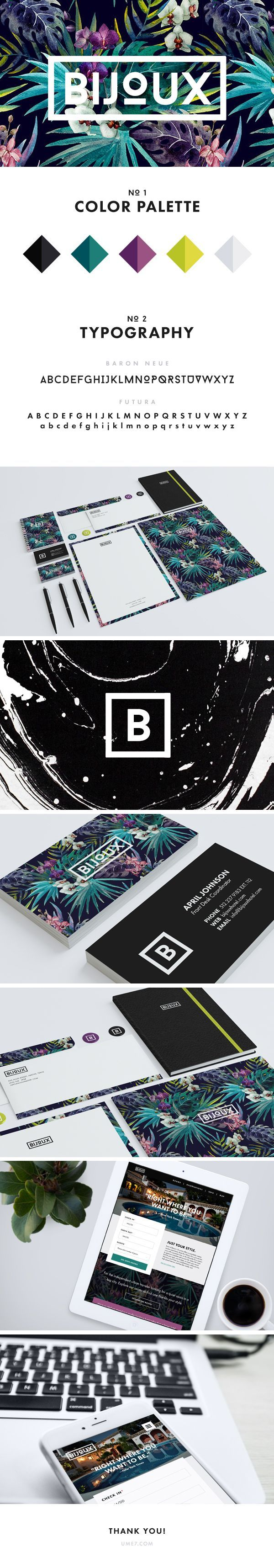 Perfect burst of colors for this branding design template! #brandingdesign