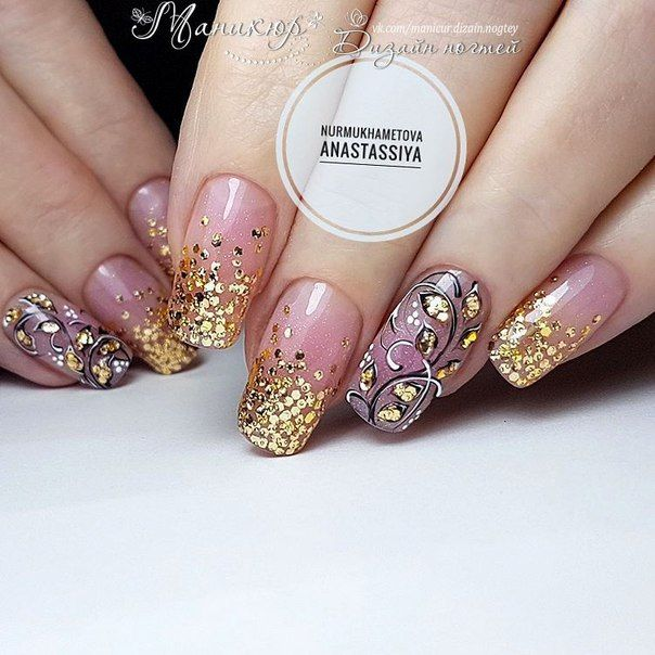 New Years' Nails