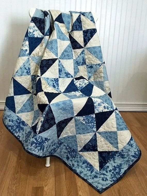 Moda Cold Spell Quilt by QuiltPetaler