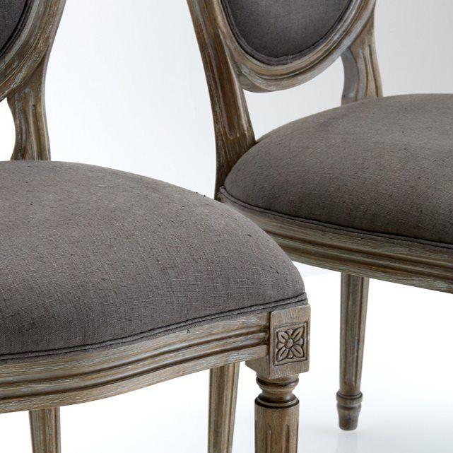 1000 id es propos de chaise louis xvi sur pinterest chaise blanche pas c - Chaise medaillon blanche ...