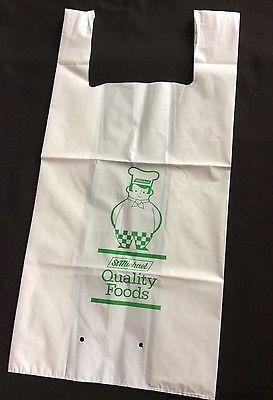 Vintage Marks Spencer M&S Carrier Bag 1980s