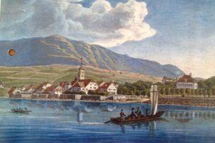 Saint Blaise vers 1800, Suisse