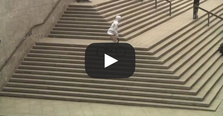 Louis Zimmer went all out in this nothing but street BMX video for Cult & Traffic BMX. Great riding, filming/editing, and the SONG is ON POINT! Re-Pin!!