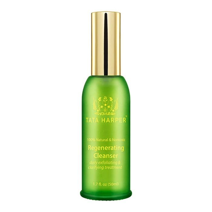 The Ten Best Natural Face Cleansers - #10  Tata Harper Regenerating Cleanser #rankandstyle