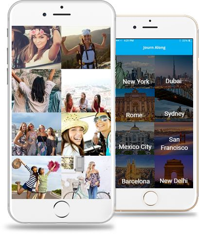 JournAlong is a travel finder app that'll be launched on iOS & Android. It'll connect people with similar that travel to similar destinations worldwide.